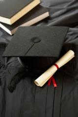 Diploma and Cap Artwork